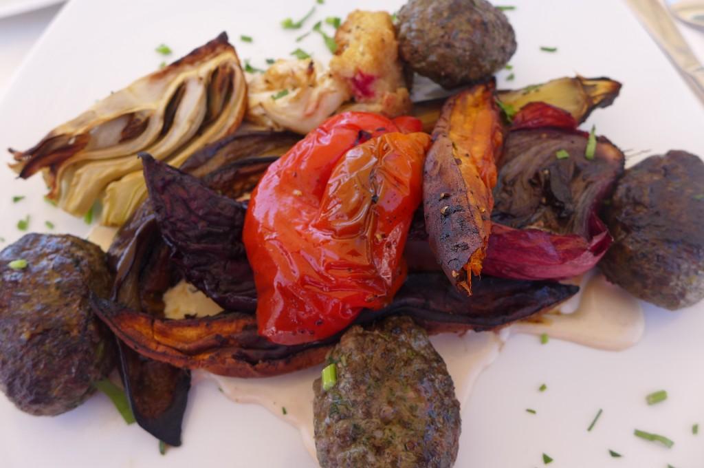 Légumes grillés ©GP