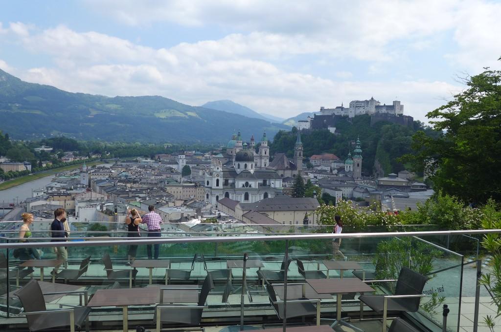Vue depuis la terrasse © GP