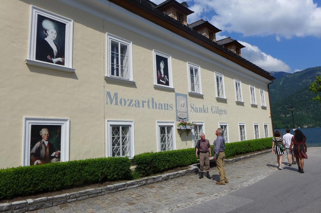 La maison de la mère de Mozart © GP