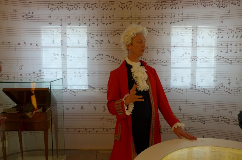 Visite de la maison Mozart © GP