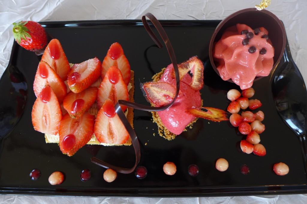 Sablé breton aux fraises © GP