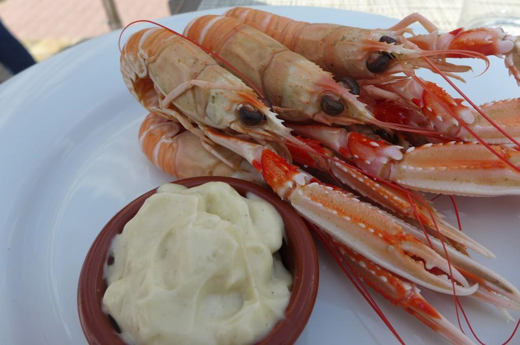 Langoustines mayonnaise © GP