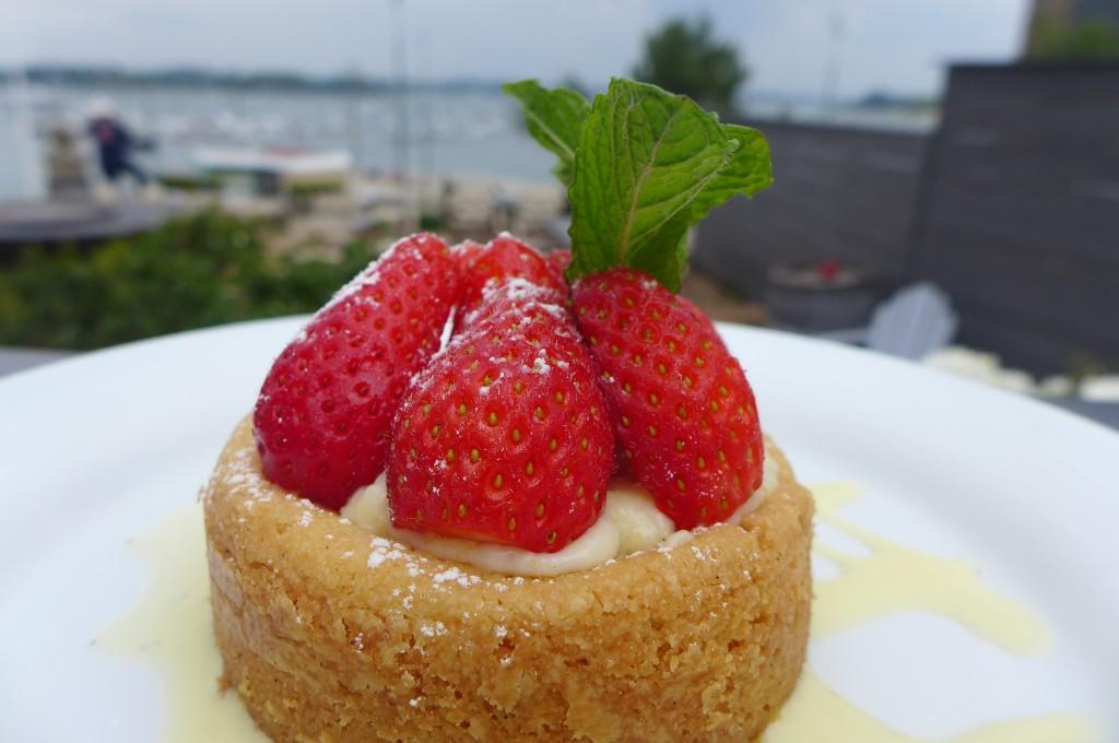 Sablé breton aux fraises ©GP