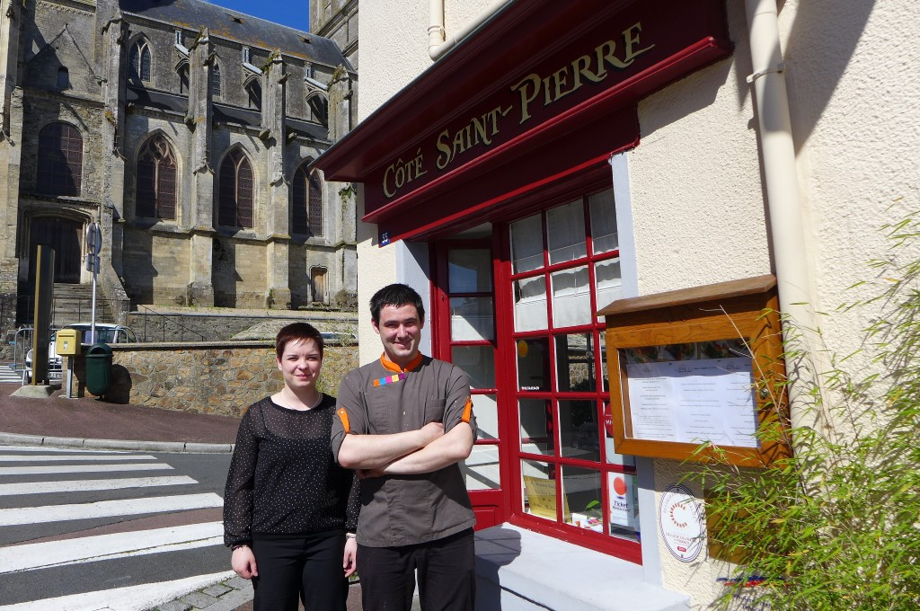 Elodie Salanon et Damien Dulin © GP