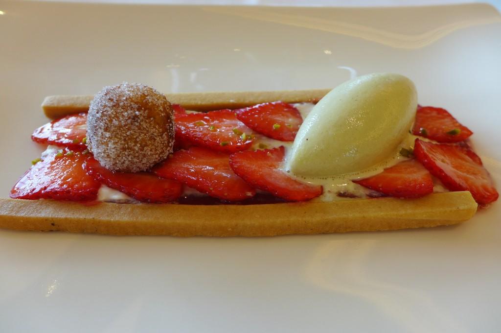 Sablé aux fraises © GP