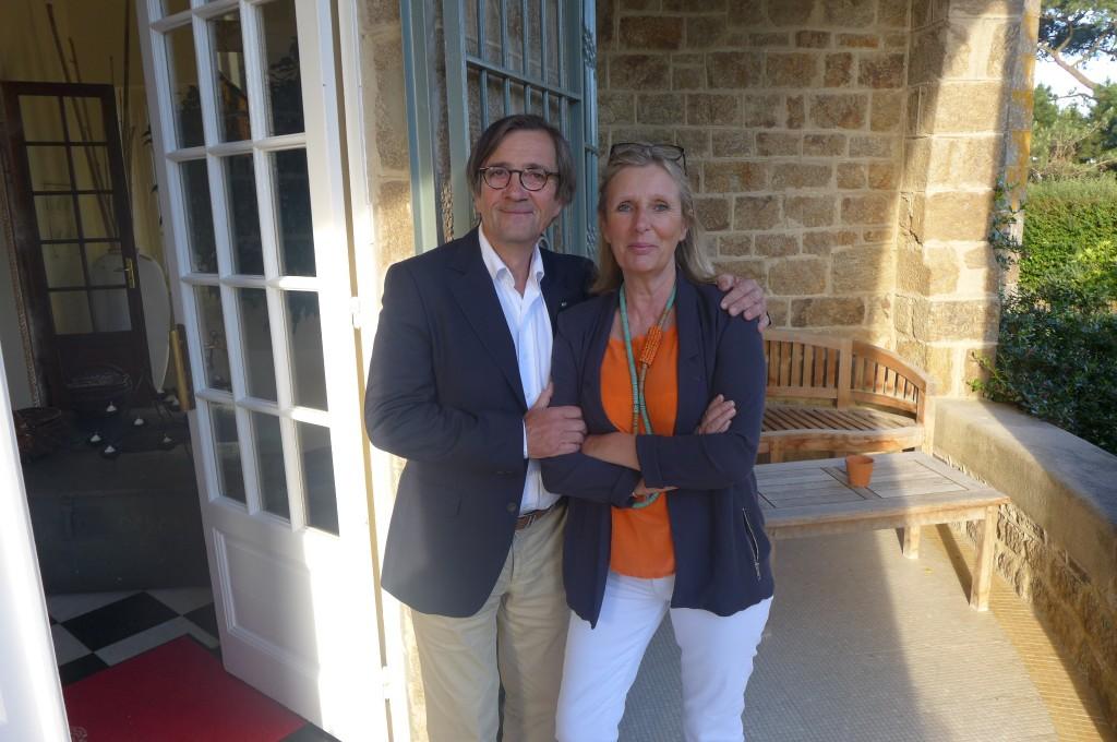 Olivier et Jane Roellinger © GP