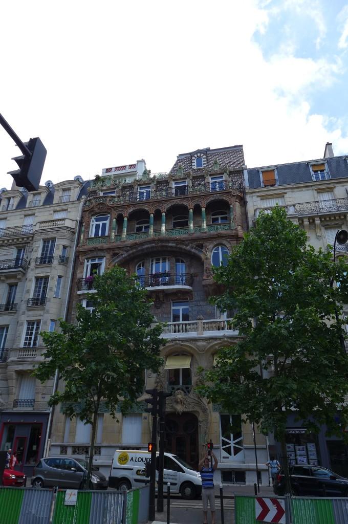 L'immeuble de Jules Lavirotte © GP