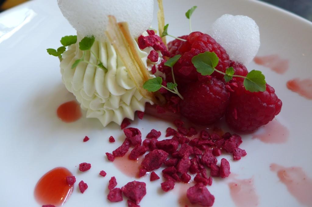 Rhubarbe et framboise © GP
