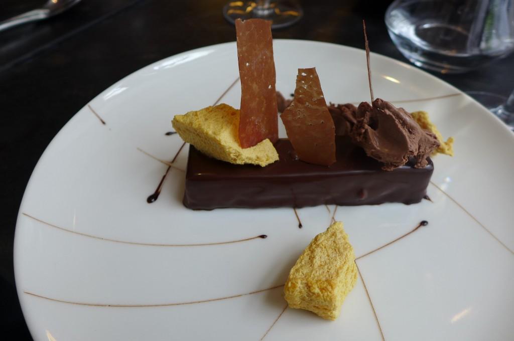 Croustillant chocolat vanille © GP