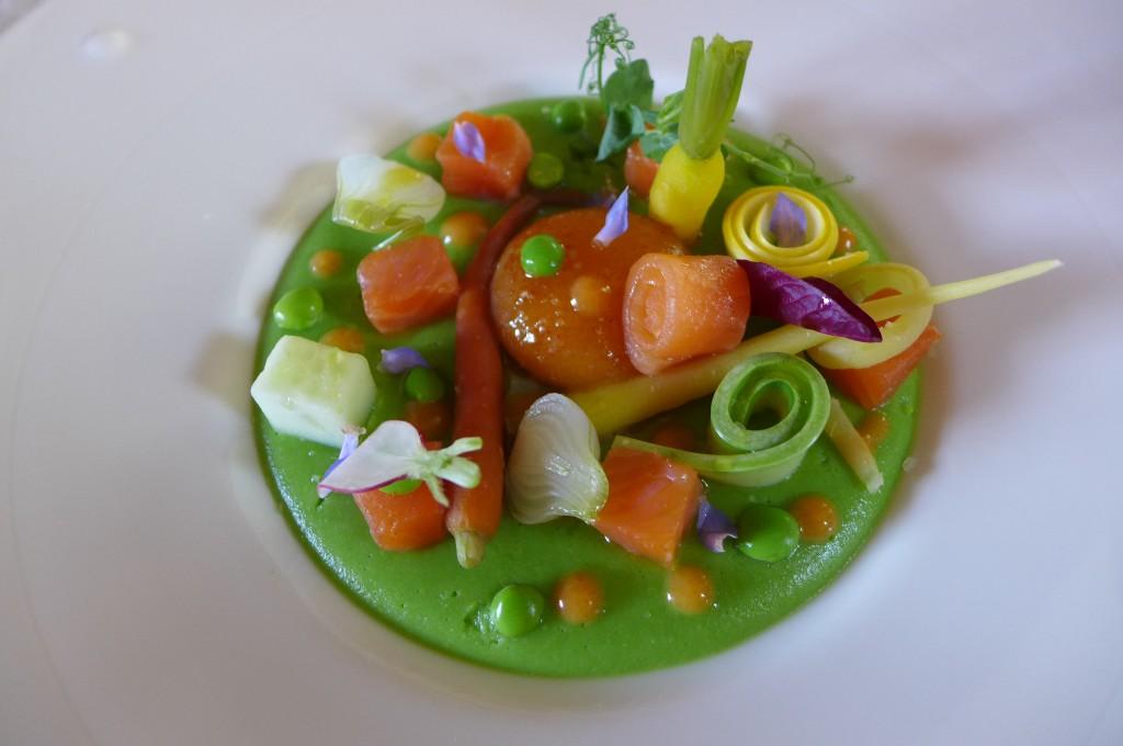 Légumes et oeuf bio ©GP