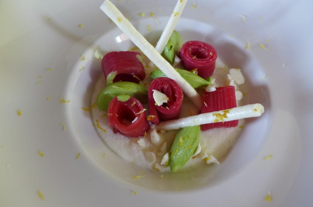 Rhubarbe et menthe ©GP
