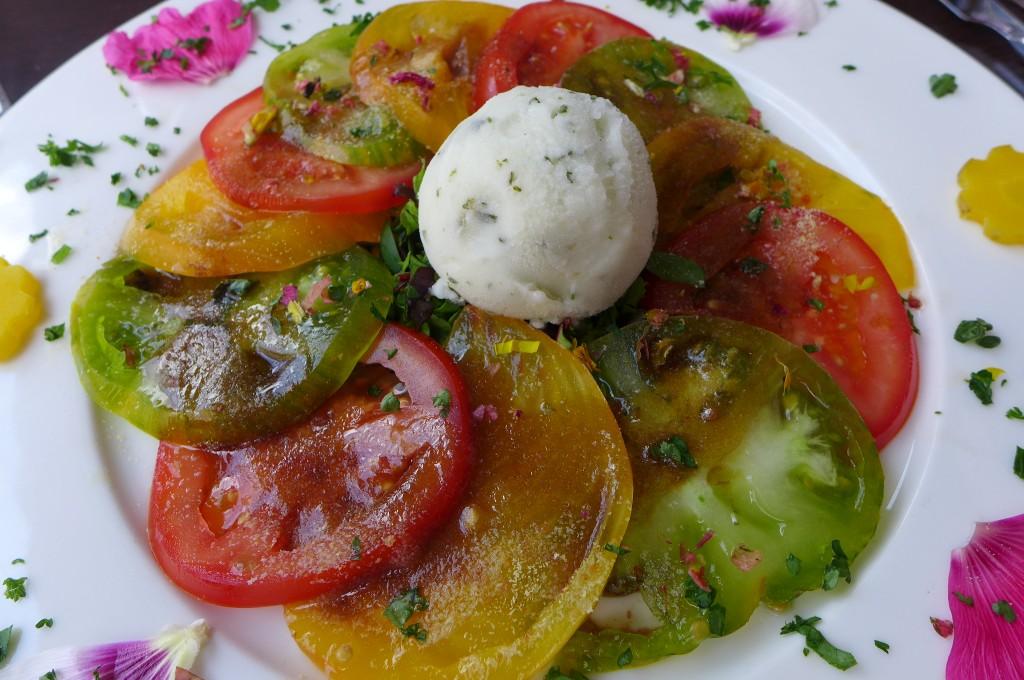 Tomates et basilic ©GP