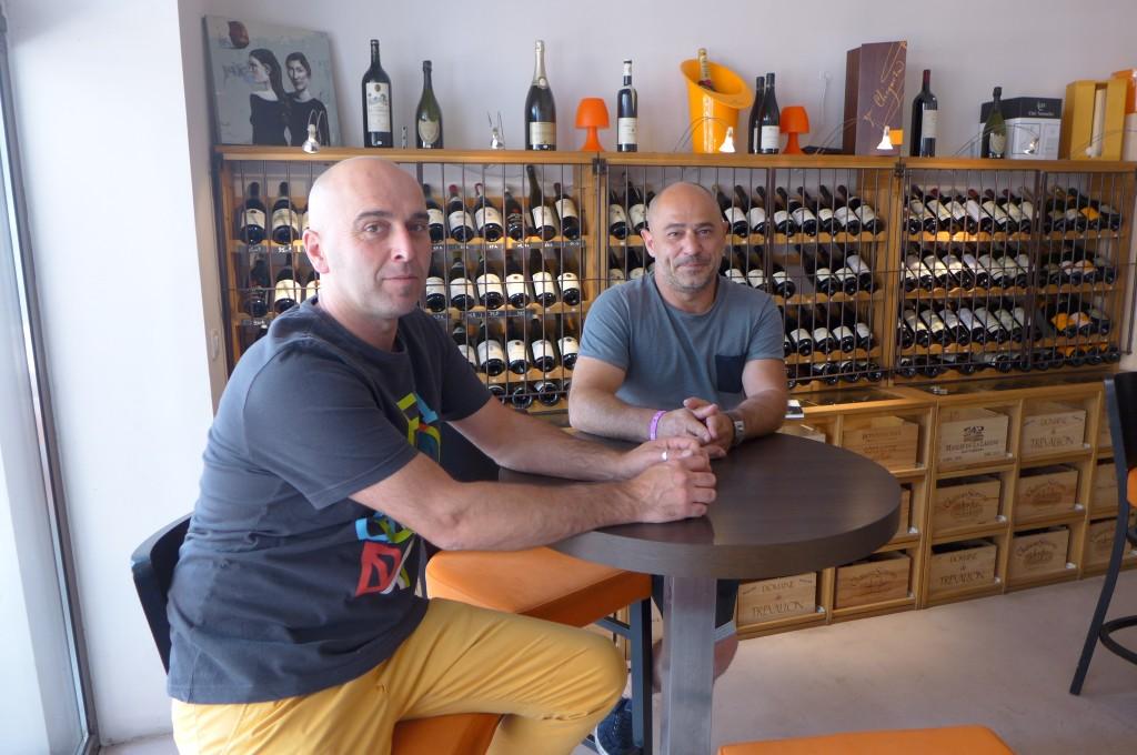 En salle, Mathias Réale (à droite) ©GP