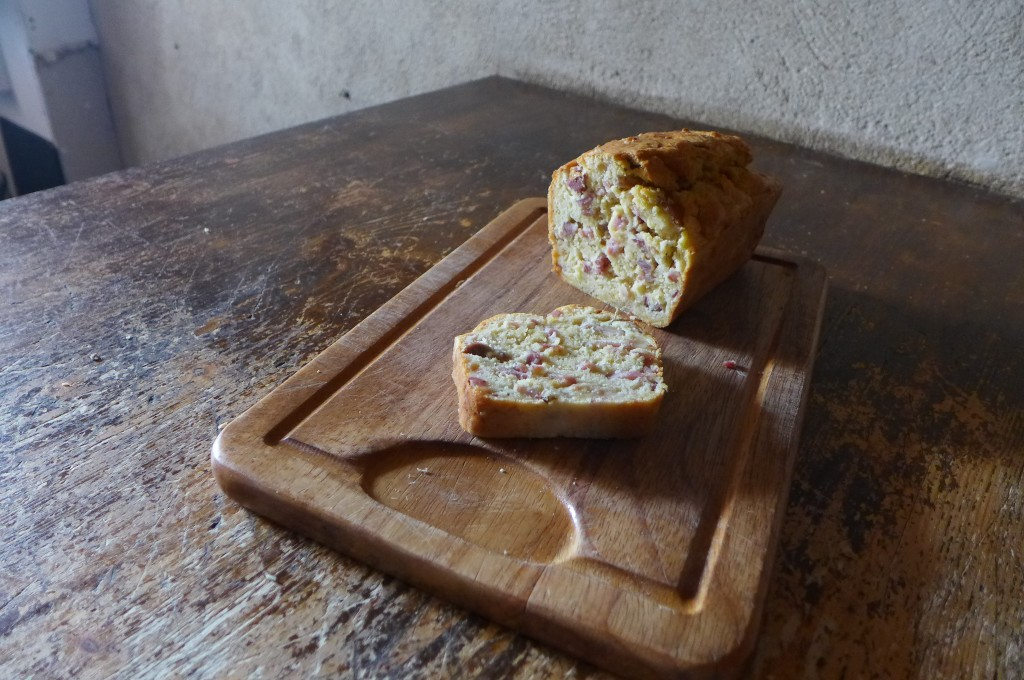 Cake au lard ©GP
