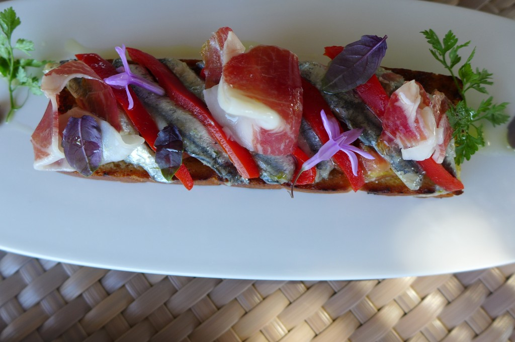 Tartine d'anchois © GP