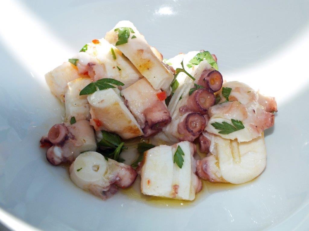 Salade de poulpe © AA