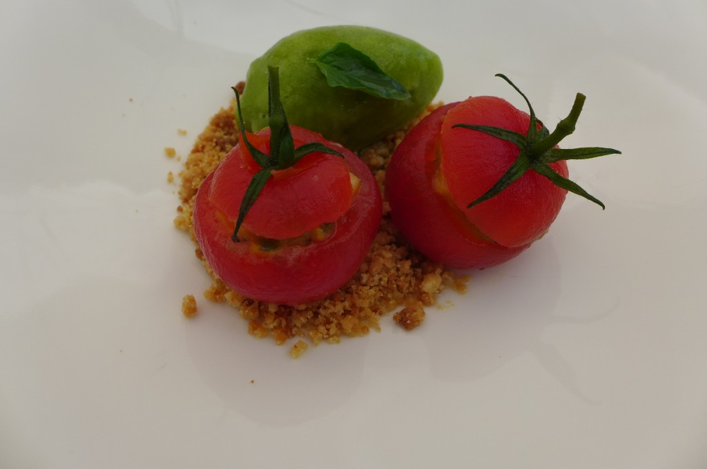 Tomates confites © GP