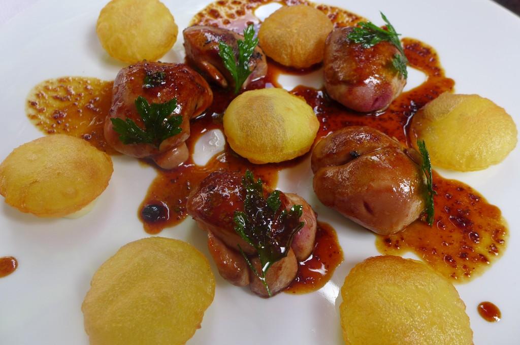 Rognon de veau et pommes soufflées © GP