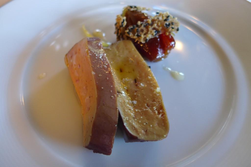 Foie gras poché © GP