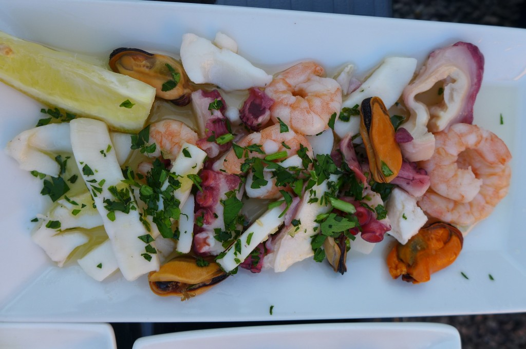 Salade de crevettes ©GP