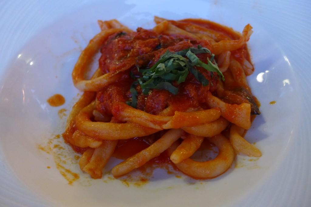 Macaroni à la tomate © GP