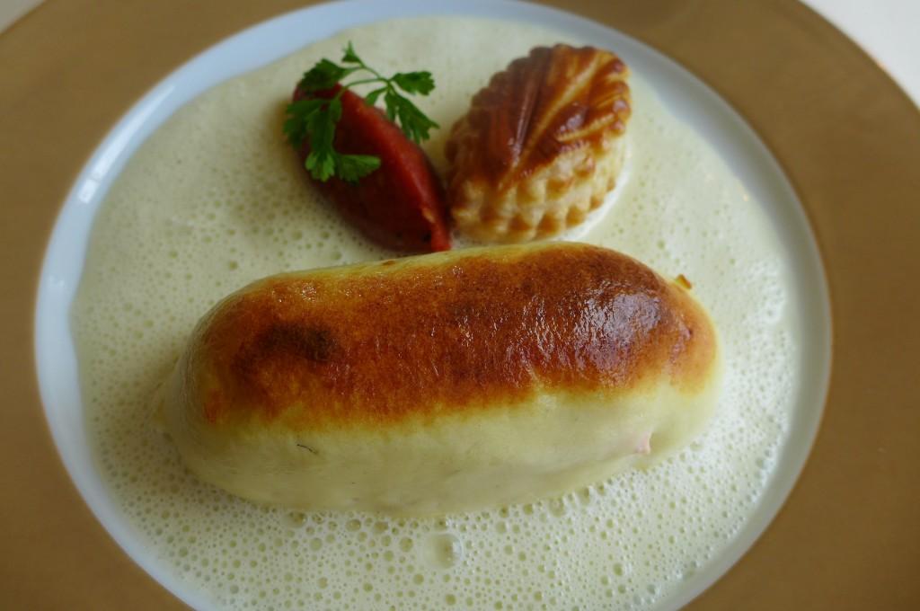 Saumon soufflé © GP