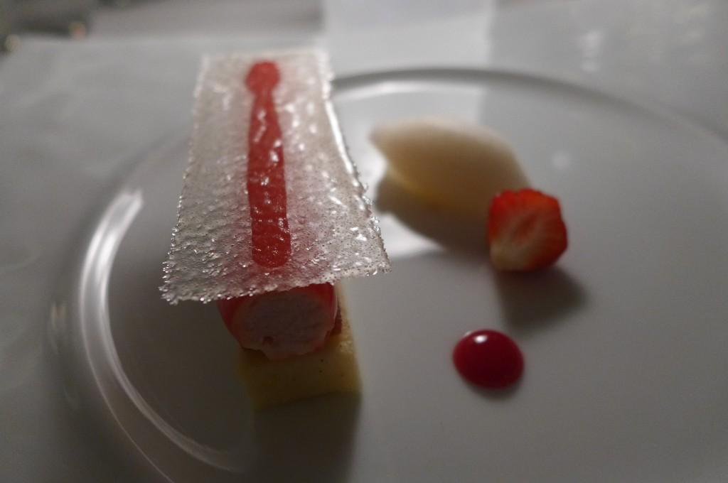 Tube de fraises © GP