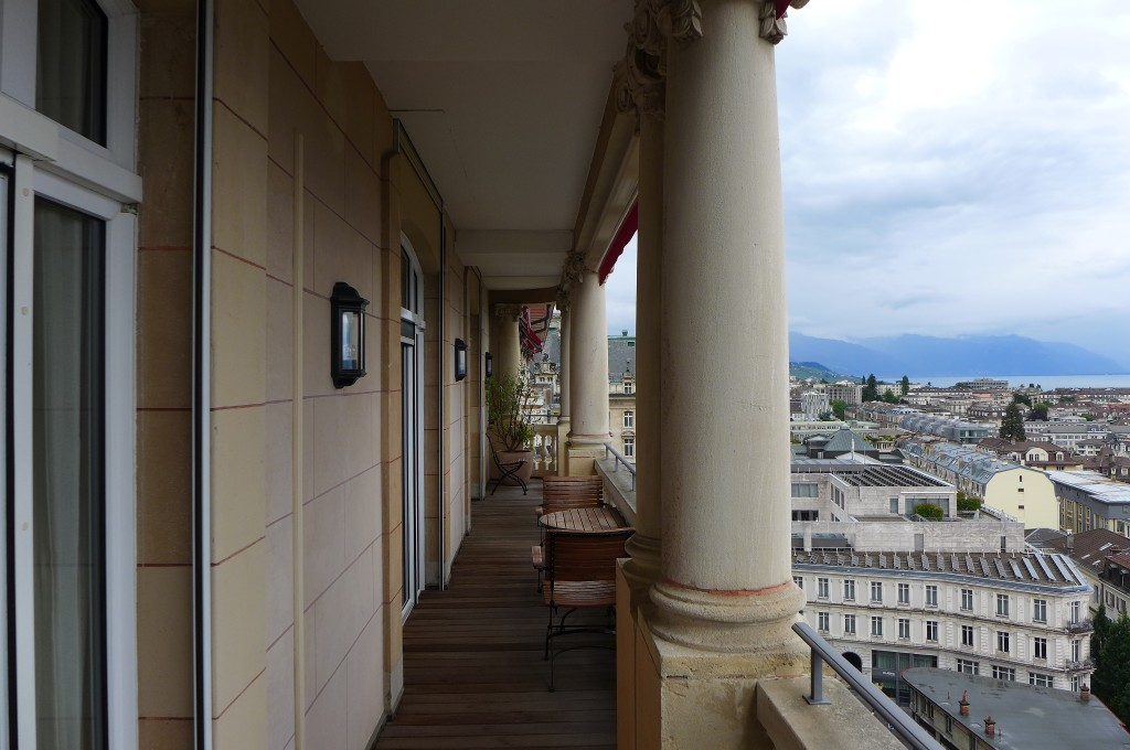 Terrasse de la suite Coco Chanel © GP