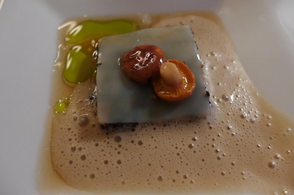 Lasagne de pétoncles aux délices des bois © GP