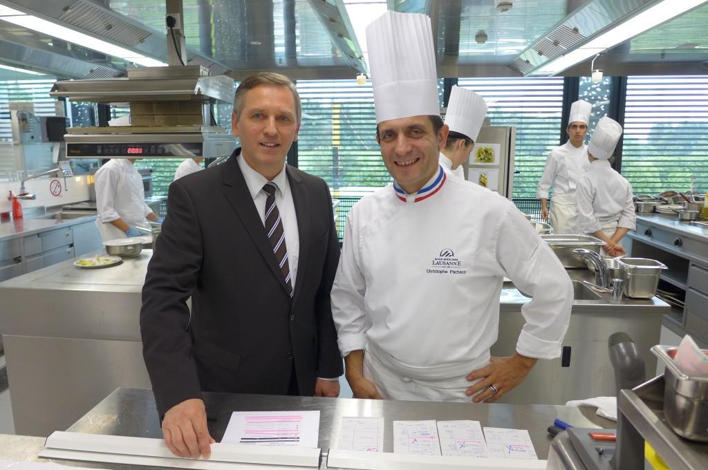 André Wawrzyniak et Christophe Pacheco © GP