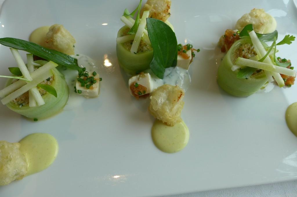 Maki de tourteau concombre ©GP