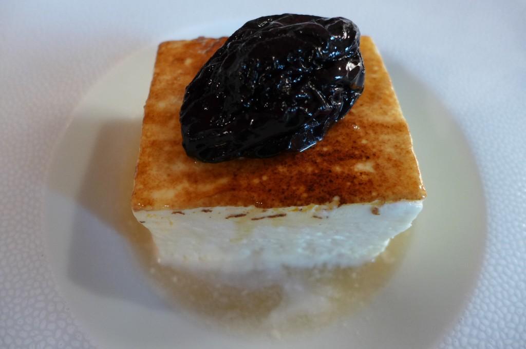 Soufflé glacé à la vieille prune © GP