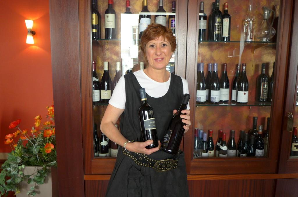 Mme Durand et ses vins © GP