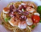 Spaghetti aux fruits de mer ©GP