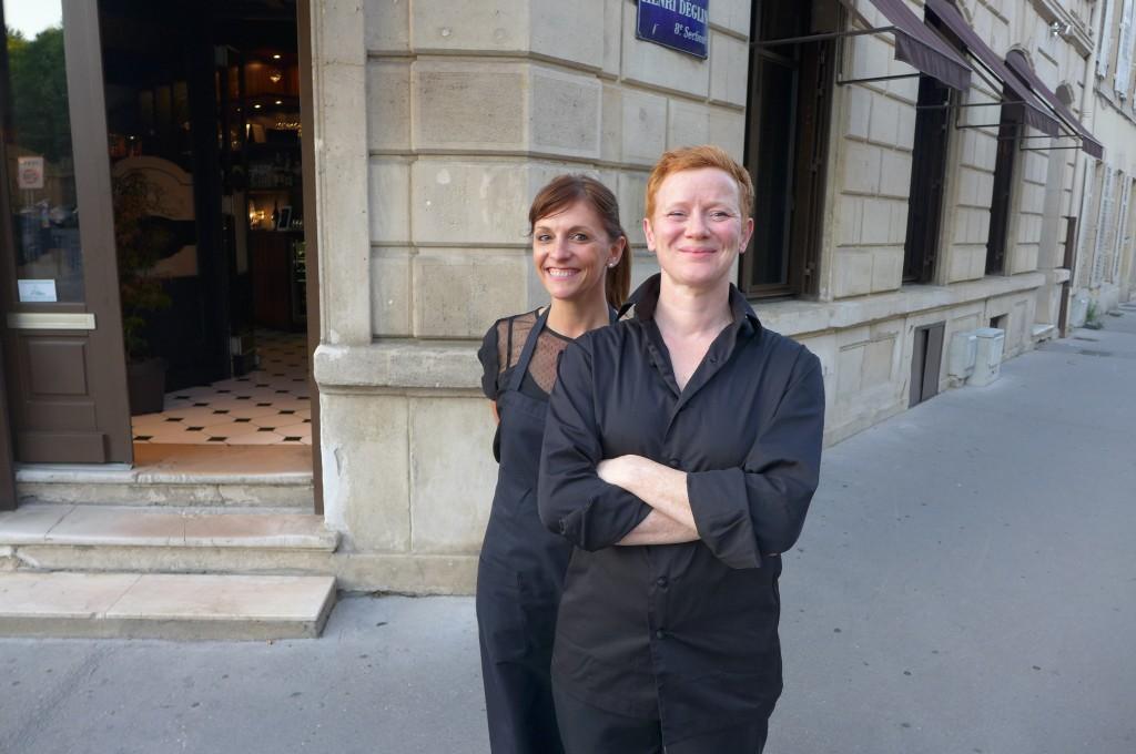 Claire et Karin © GP