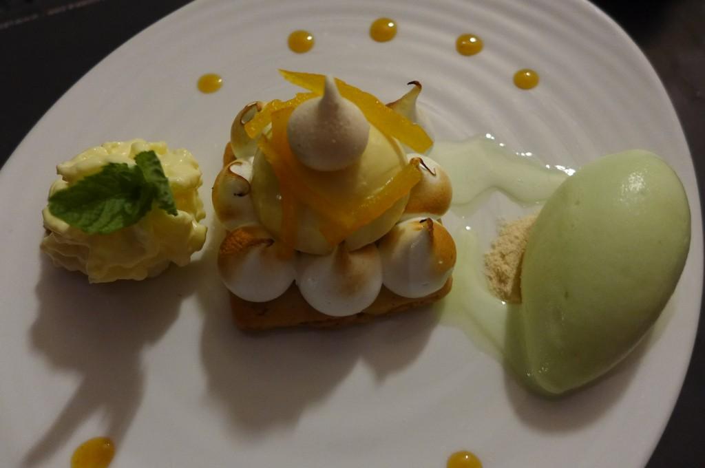 Tarte citron revisitée © GP