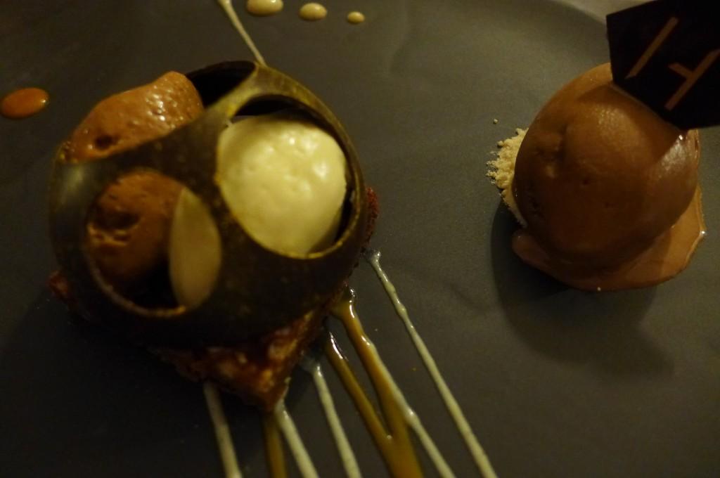 Assiette du croqueur de chocolat © GP