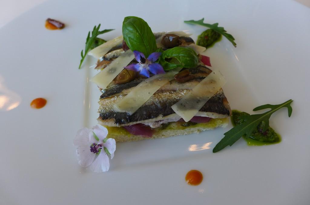Pissaladière de sardines © GP