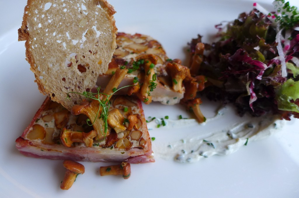 Terrine de chanterelles © GP