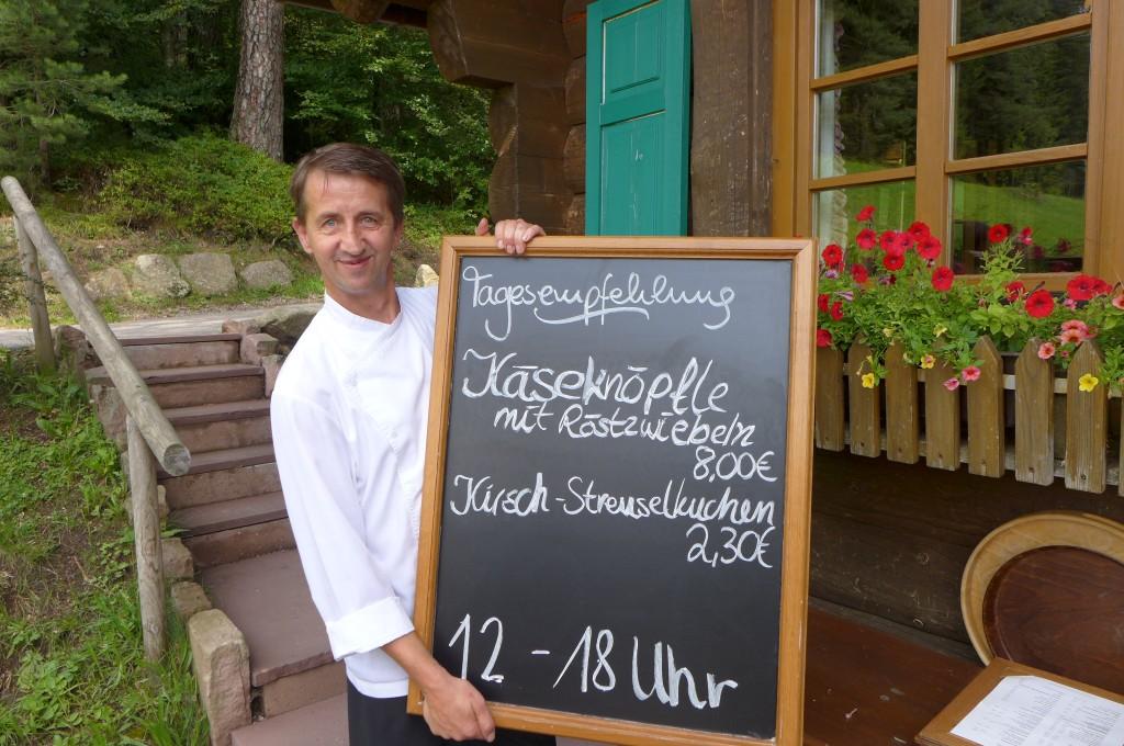 Le chef Jürgen Reidt © GP