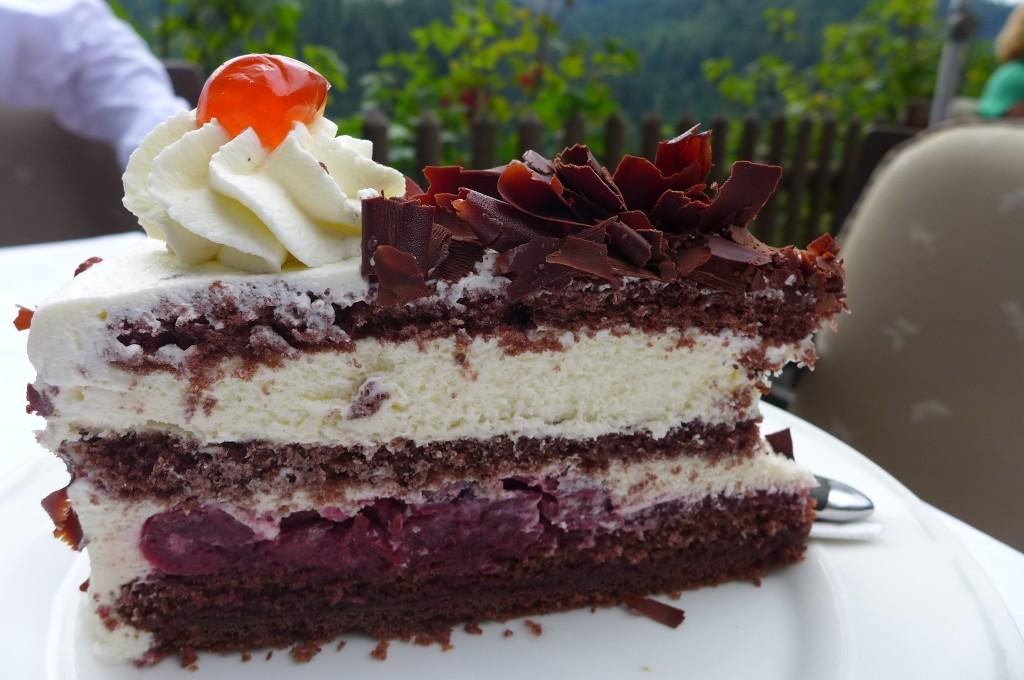 Gâteau Forêt Noire © GP