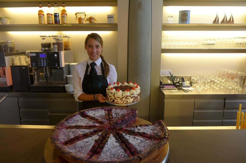 Les pâtisseries du Café © GP
