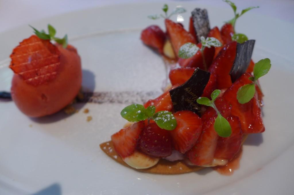 Tarte aux fraises revisitée © GP