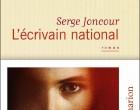 Serge Joncour en écrivain national