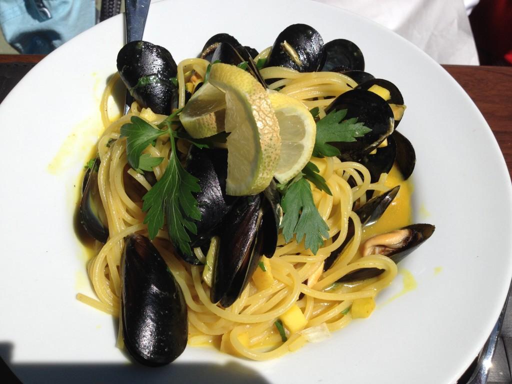 Spaghetti aux moules ©GP