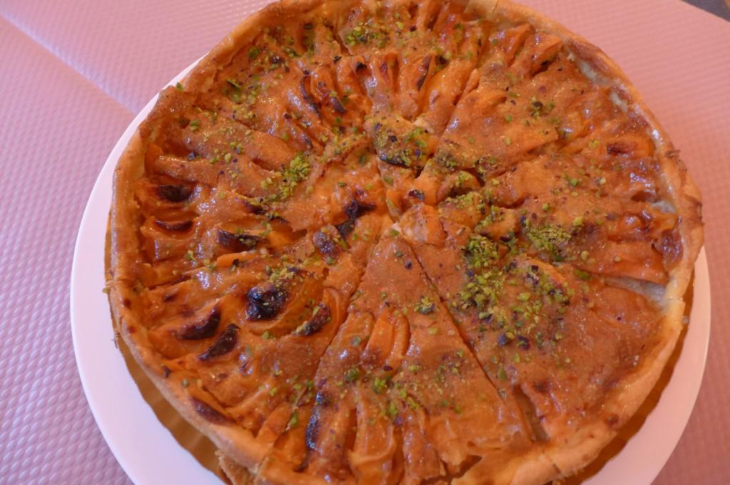 Tarte aux abricots © GP
