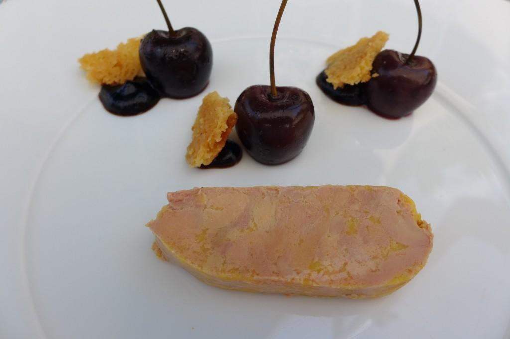 Foie et cerises noires © GP
