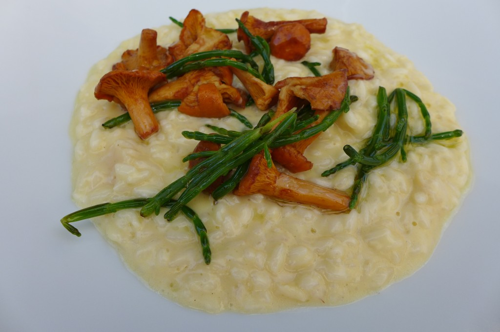 Risotto aux girolles © GP