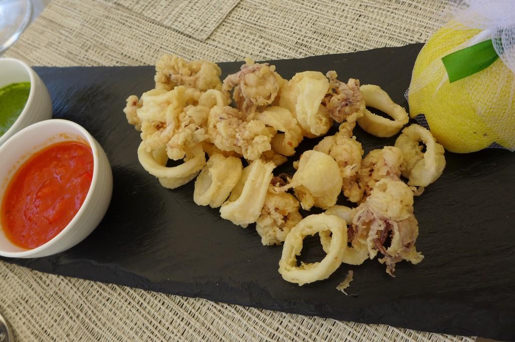 Calamars frits à la romaine © GP