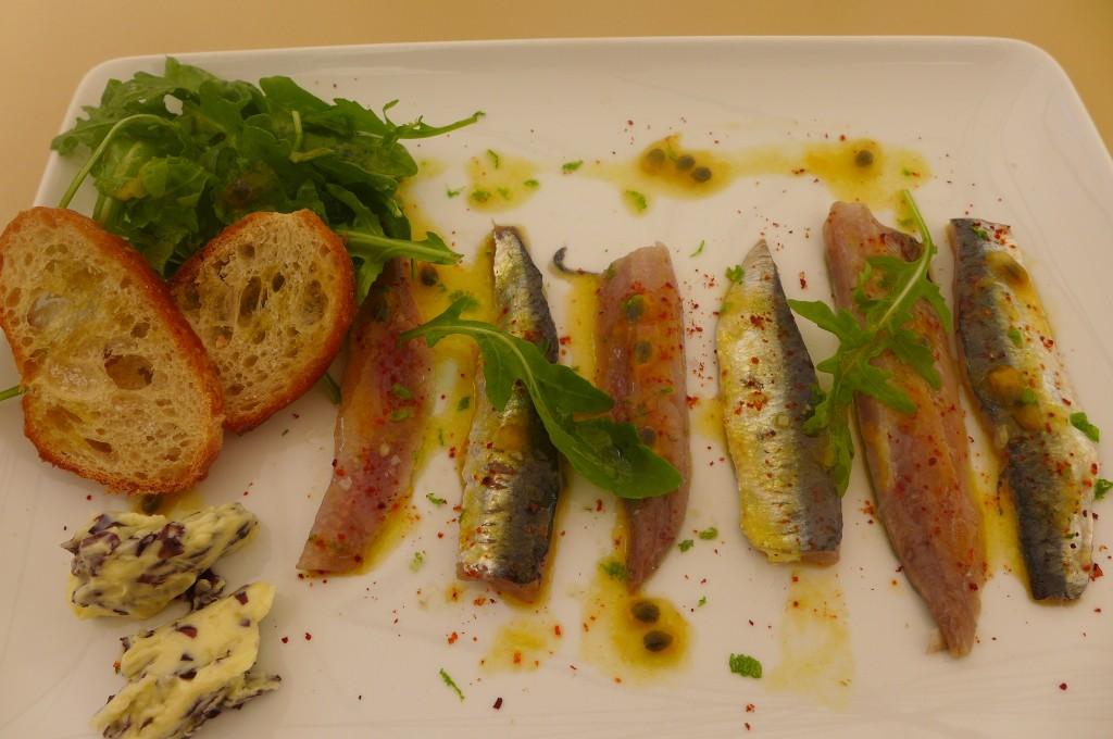 Sardines à l'huile de citron vert © GP